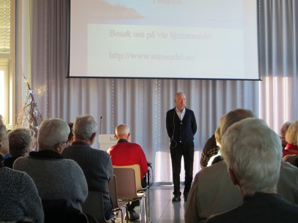 Karsten Alnæs i Elvesalen onsdag 3.desember 2014