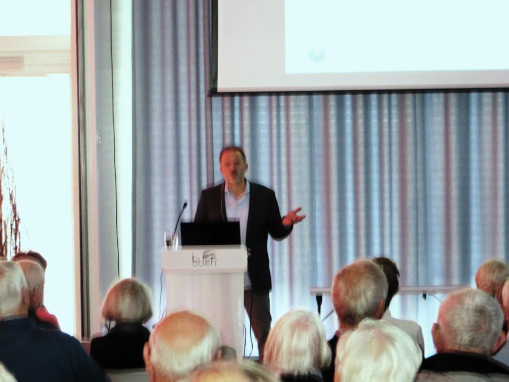 Geir Hønneland i Elvesalen onsdag 18.november